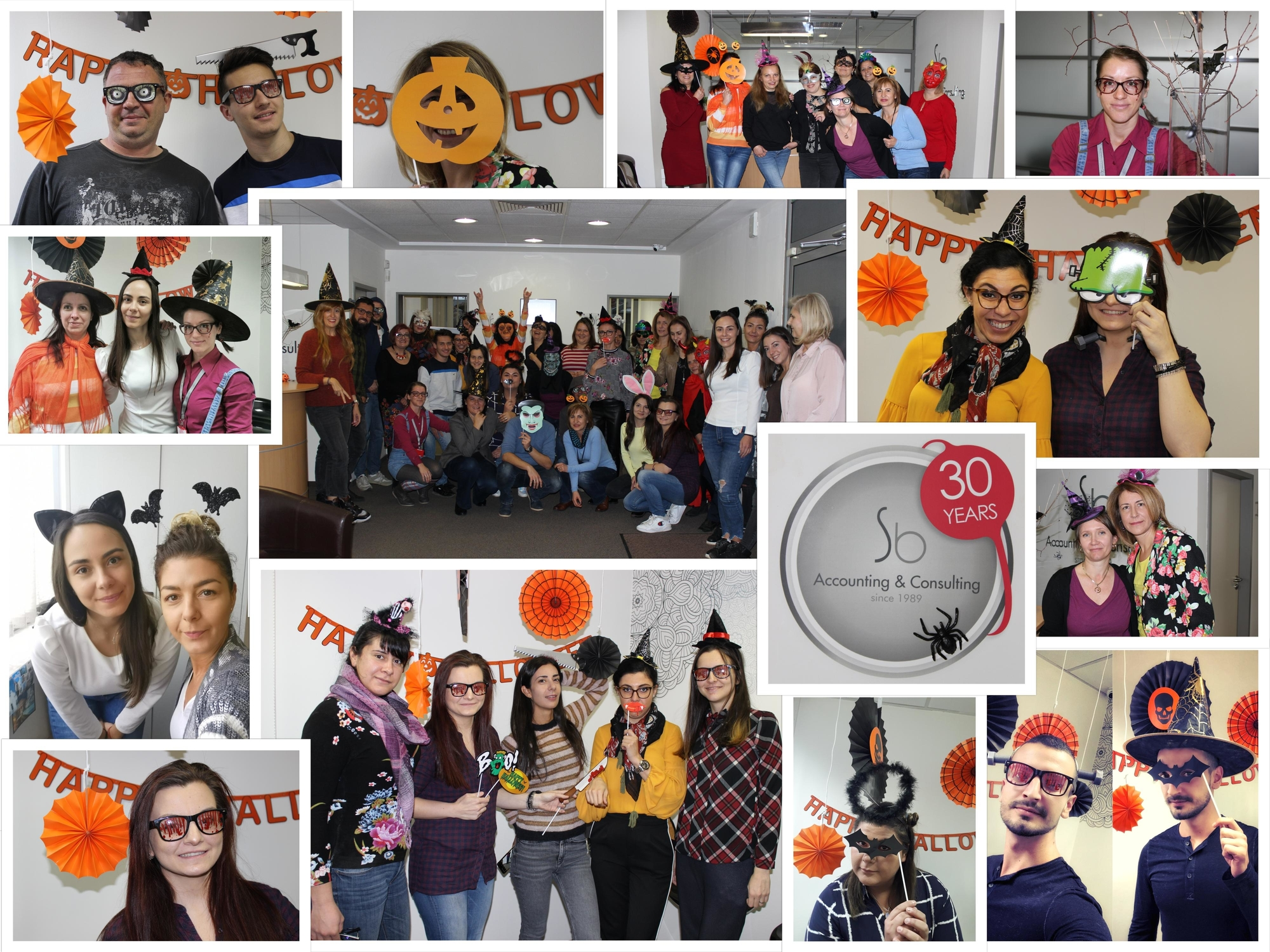 Celebrating Halloween in the Sb office!